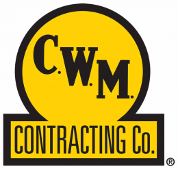 C.W.M. Contracting Co. Logo