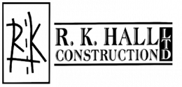 R.K. Hall Construction Logo