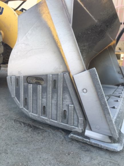 Kenco weld-on Chromium Carbide Side Protectors for any bucket